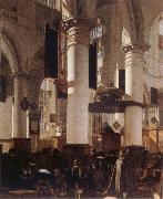 Emmanuel de Witte Church Interior oil painting artist