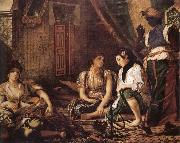 Eugene Delacroix Women of Aleigers oil painting picture wholesale