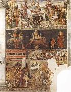 Francesco del Cossa Allegory of the Month of April oil painting picture wholesale