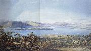 Francis Oliver Finch View of Loch Lomond oil painting artist
