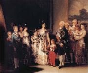Francisco Jose de Goya The Family of Charles IV oil painting picture wholesale