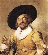 Frans Hals The Merry Drinker oil painting artist