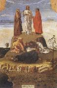 Gentile Bellini Transfiguration fo Christ oil painting artist