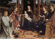 Gerard David The Mystic Marriage of St Catherine oil painting artist
