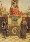 Giorgione Virgin and CHild with SS Francis and Liberalis oil painting picture wholesale