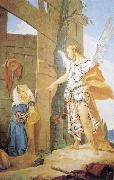 Giovanni Battista Tiepolo Sarah and the Archangel oil painting picture wholesale