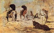 Giovanni Fattori Roman Carts oil painting picture wholesale