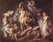 Henry Fuseli Titania and Bottom oil painting picture wholesale