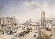 Henry Gritten Melbourne from the south bank of the yarra oil painting picture wholesale