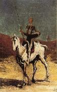 Honore Daumier Don Quixote oil painting artist