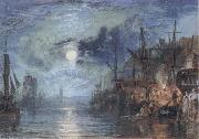 J.M.W. Turner Shields,on the River oil painting picture wholesale
