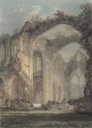 J.M.W. Turner The Chancel and Crossing of Tintern Abbey,Looking towards the East Window oil painting picture wholesale