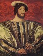 Jean Clouet Portrait of Francis I,King of France oil painting artist
