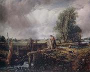 John Constable A boat passing a lock oil painting picture wholesale