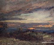 John Constable Hampstead Heath,sun setting over Harrow 12 September 1821 oil painting picture wholesale