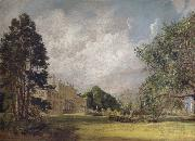 John Constable Malvern Hall:The entrance front oil painting picture wholesale