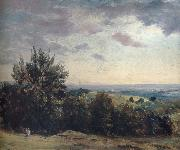 John Constable View from Hampstead Heath,Looking West oil painting picture wholesale