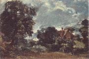 John Constable Church Farm oil painting picture wholesale