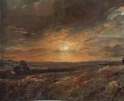 John Constable Hampsted Heath,looking towards Harrow at sunset 9August 1823 oil painting picture wholesale