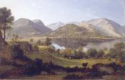 John glover Ullswater,early morning oil painting reproduction