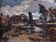 John Constable Flatford Mill from a lock on the Stour oil painting picture wholesale