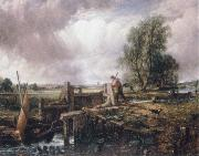 John Constable A voat passing a lock oil painting picture wholesale