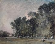 John Constable Landscape study:Scene in a park oil painting picture wholesale