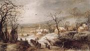 Joos de Momper Winter Landscape oil painting picture wholesale