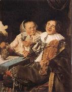 Judith leyster Carousing Couple oil painting artist