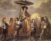 LE BRUN, Charles Chancellor Seguier at the Entry of Louis XIV into Paris in 1660 oil painting picture wholesale