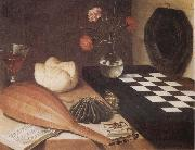Lubin Baugin Still Life with Chessboard oil painting picture wholesale