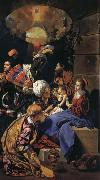 Maino, Juan Bautista del Adoration of the Magi oil painting picture wholesale