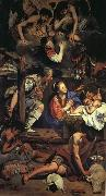 Maino, Juan Bautista del Adoration of the Shepherds oil painting reproduction