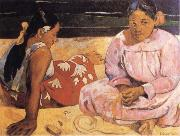 Paul Gauguin Tahitian Women oil painting reproduction