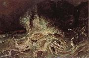 Paul Huet Breakers at Granville oil painting picture wholesale