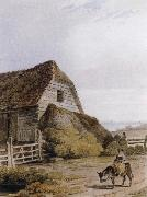 Paul Sandby Munn Near Hastings,Sussex oil painting artist