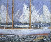 Philip Wilson Steer A Procession of Yachts oil painting picture wholesale