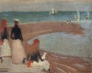 Philip Wilson Steer The Beach at Walberswick oil painting reproduction