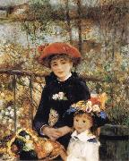 Pierre-Auguste Renoir On the Terrace oil painting