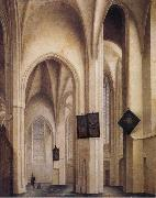 Pieter Jansz Saenredam Church Interior in Utrecht oil painting picture wholesale