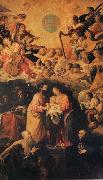 ROELAS, Juan de las Adoration of the Name of Fesus oil painting picture wholesale