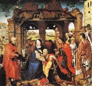 Roger Van Der Weyden Adoration of the Magi oil painting picture wholesale
