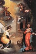 SALIMBENI, Ventura The Annunciation oil painting artist