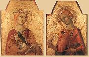 Simone Martini St Catherine and St Lucy oil painting picture wholesale