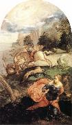 Tintoretto St George and the Dragon oil painting picture wholesale