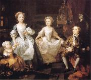 William Hogarth The Graham Children oil painting picture wholesale
