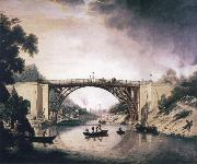William Williams View of Ironbridge oil painting picture wholesale