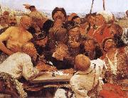 llya Yefimovich Repin Zaporozhian Cossacks oil painting picture wholesale