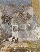 unknow artist Wall painting of a pastoral scene in the romantic style,from pompeii oil painting picture wholesale