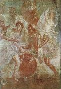 unknow artist Wall painting from the House of the Dioscuri at Pompeii oil painting picture wholesale